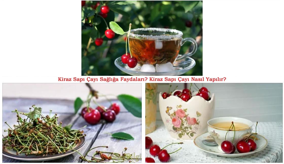 Kiraz Sapı Çayı Faydaları Nedir? Kiraz Sapı Çayı Nasıl Yapılır?