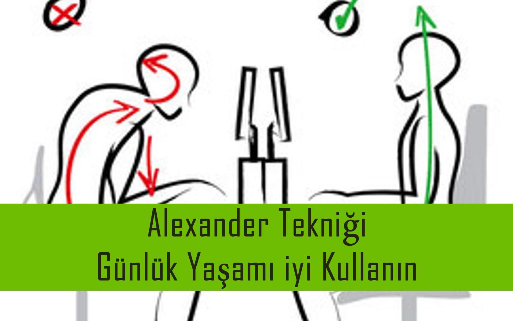 Alexander Tekniği ile Günlük Yaşamı iyi Kullanmak