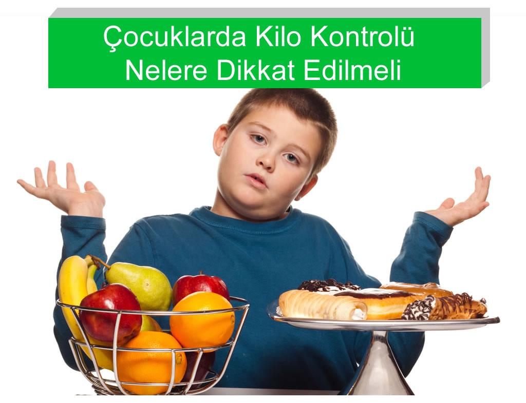Çocuklarda Kilo Kontrolü İçin Nelere Dikkat Edilmeli